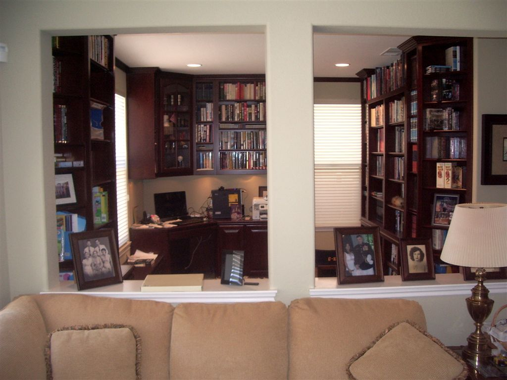 Is A Great Home Office Solution Wonderful Custom Home Office