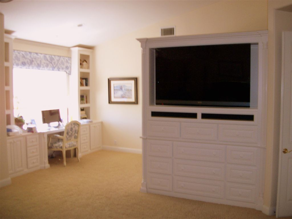Master Bedroom Combination Home Office And Entertainment
