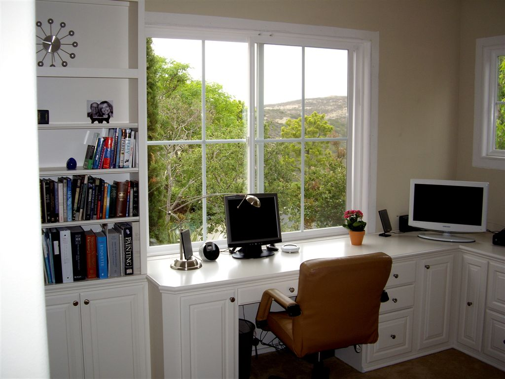 Custom home office cabinets in southern california - Custom home office designs ideas ...