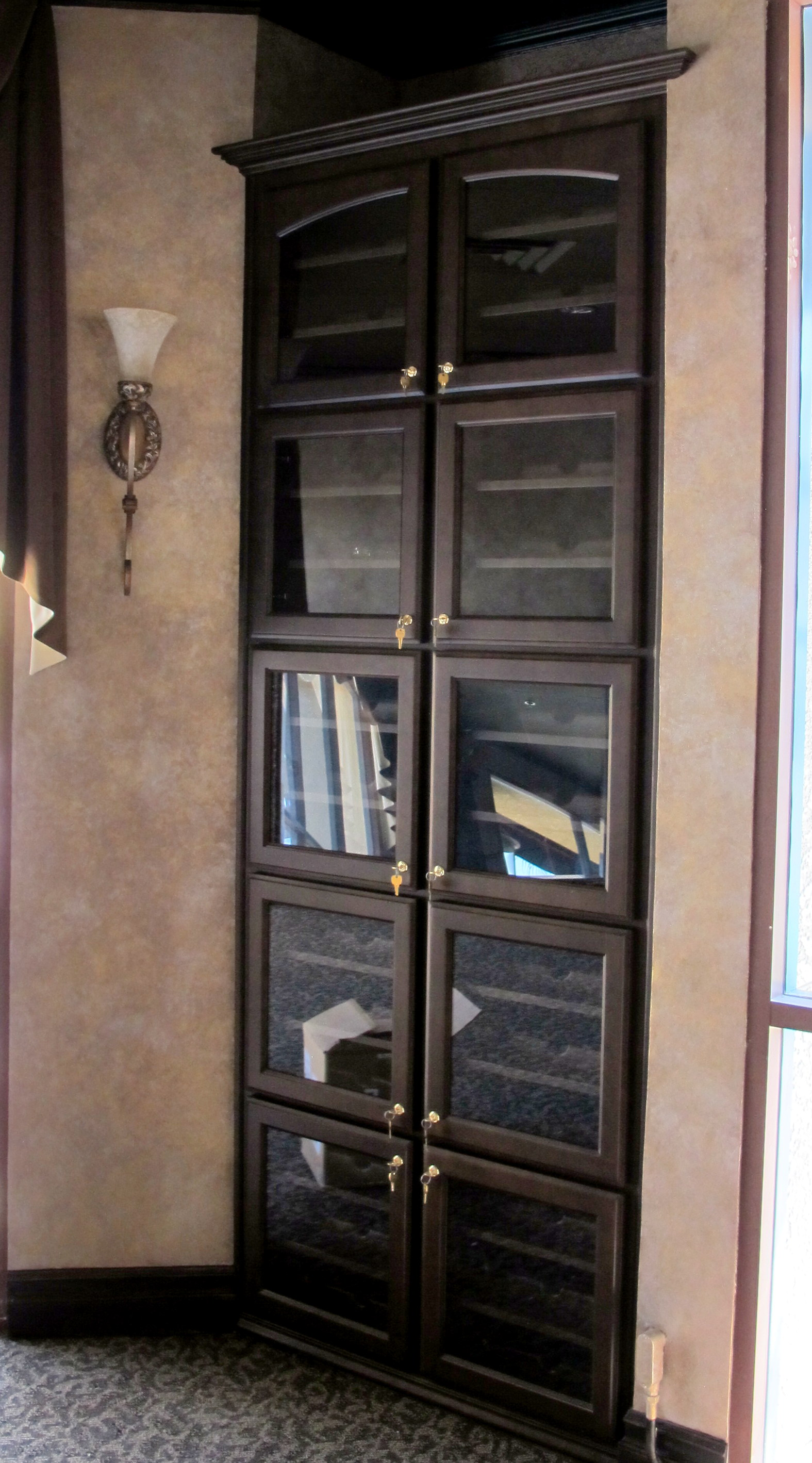 Built-In Wine Cabinet for Local Restaurant