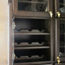 Customer rents there own Wine storage