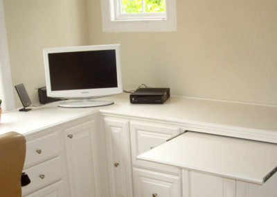 Custom home office in Mission Viejo