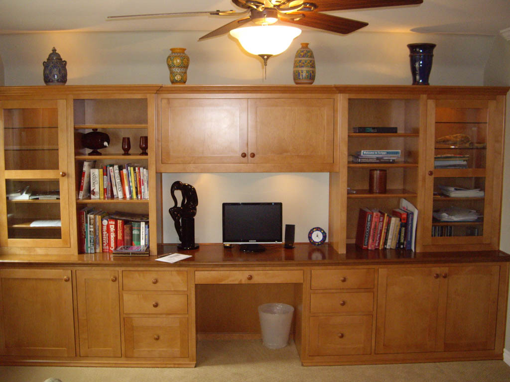 built in home office in san diego