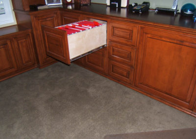 Full extension glides standard on all drawers