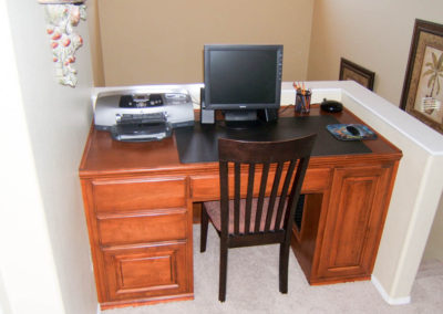 Custom home office in Laguna Hills