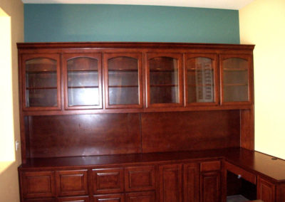 Home office cabinets in Orange County