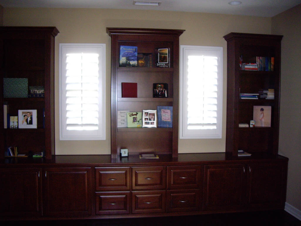 Custom Home Office Cabinets In Southern California