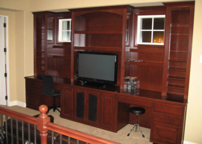 Built in custom cabinets in Irvine