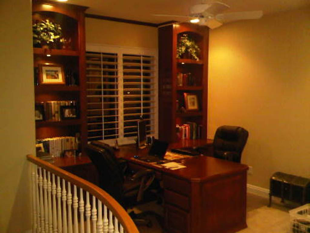 how to build a custom home office