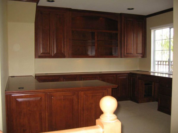 Custom Office Cabinetry Design ~ Custom home office cabinets c l design specialists inc