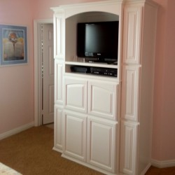 Built in cabinets in bedroom in Mission Viejo
