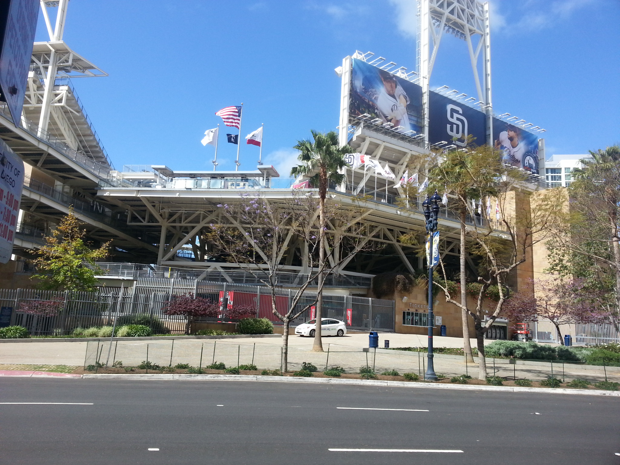 "Custom Entertainment Center installed in Luxury High Rise Condominium across from PETCO Park – ""Home of the San Diego Padres"""