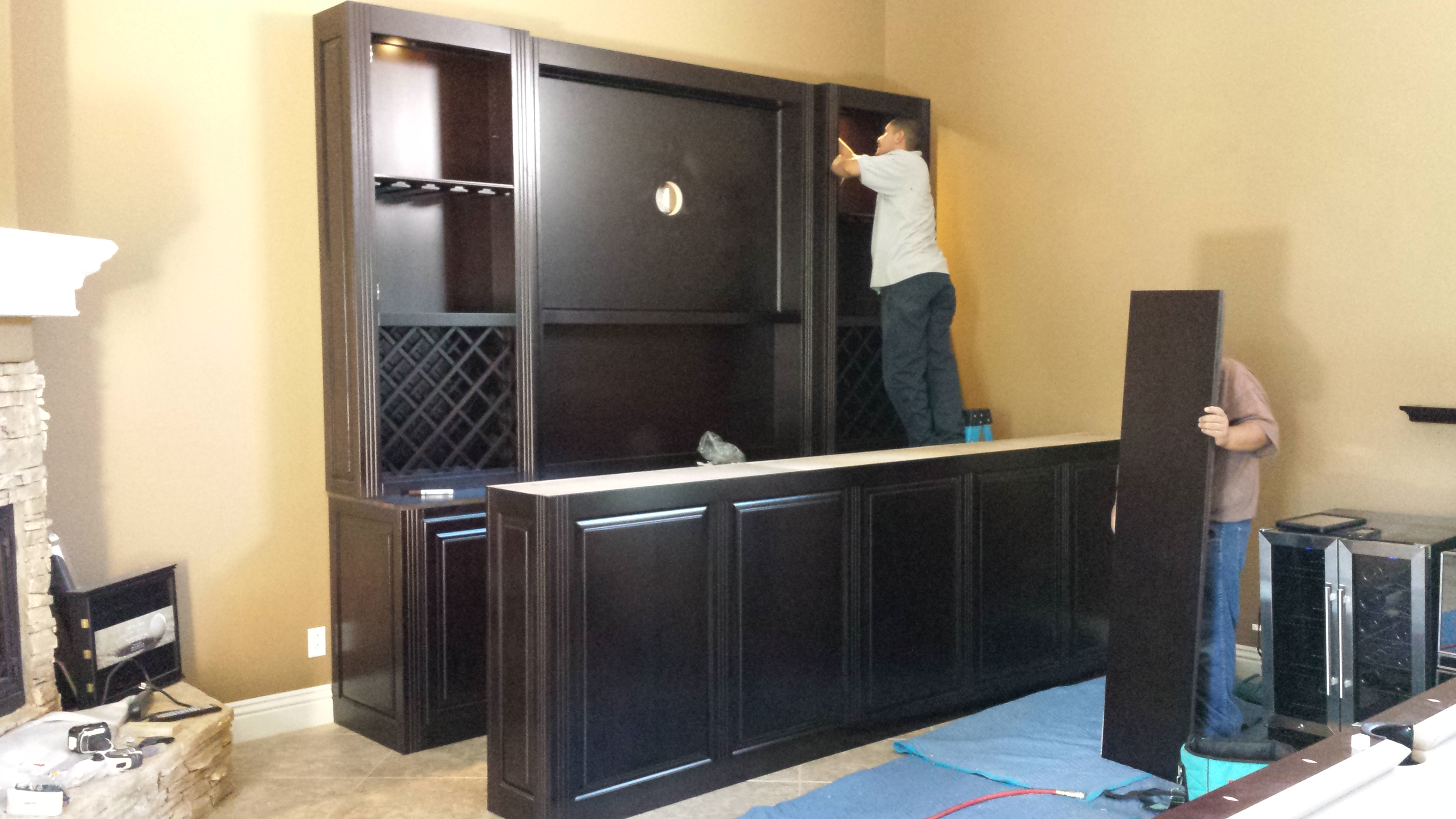 South Corona Ca. home entertainment Bar to be featured on our home page.