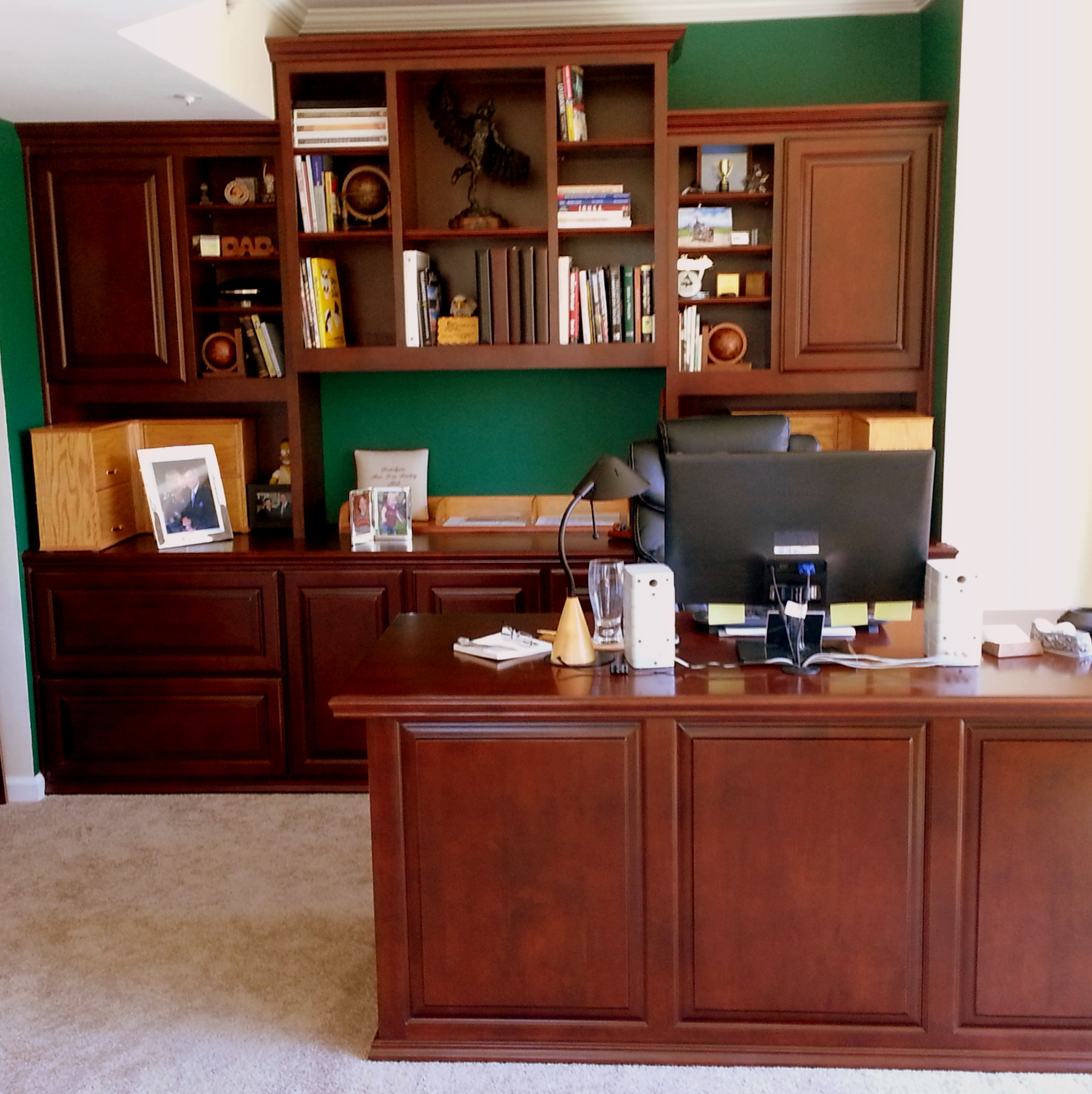 Convert Cabinet To File Drawer Soffit Heights Vary This Custom Design Incorporated Hidden And
