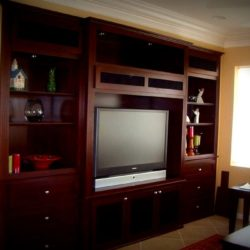 Custom cabinets and built in wall units for your home.