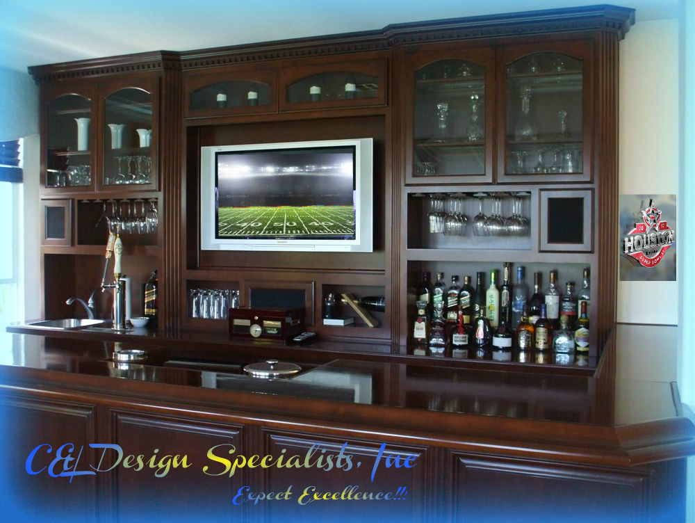 home entertainment bar