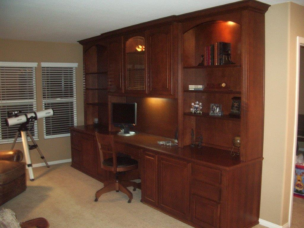 custom home office cabinets in southern california. Black Bedroom Furniture Sets. Home Design Ideas
