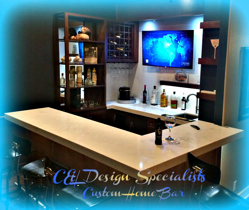 Custom Home Bar in Southern California