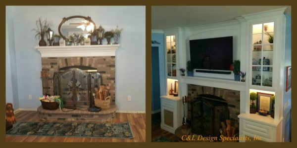 Before and After Cabinet Photos