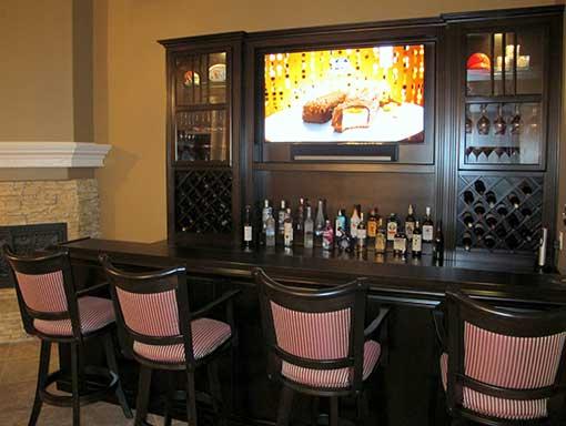 Custom Home Bars Designs Home Design Ideas