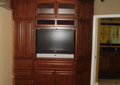 Built in cabinets in Laguna Hills