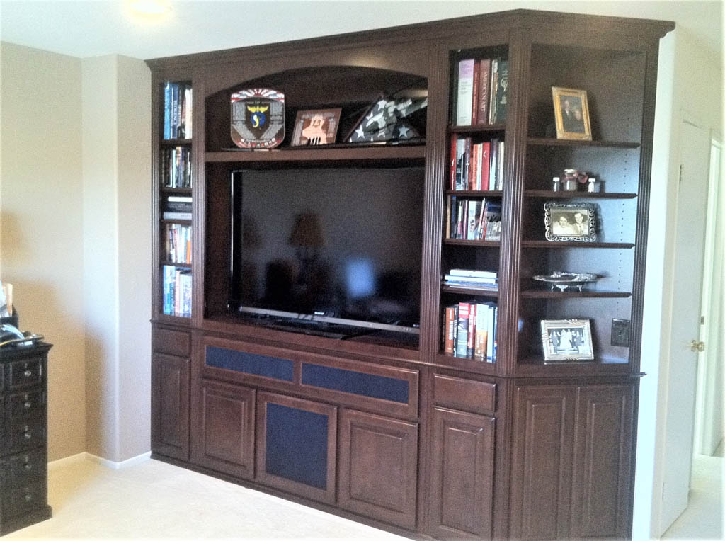 custom entertainment centers | designed - built - installed. c & l