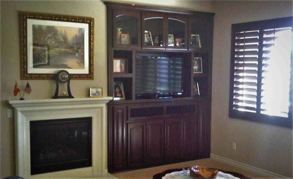 Custom Entertainment Centers Designed Built