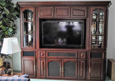 Freestanding custom cabinets