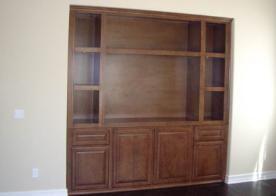 Maple custom cabinetry