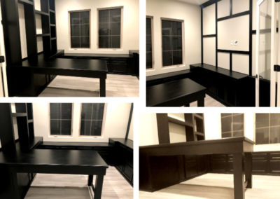 Home Builder office replication. 1/2 the Home Builders cost and completely custom.