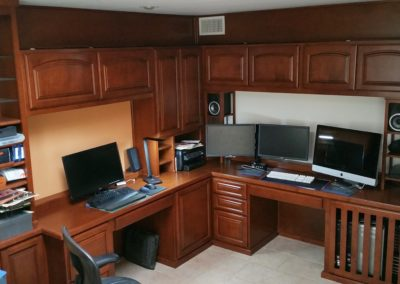 Lake Forest Ca. custom home office