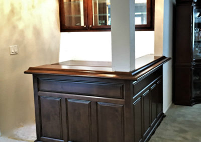 Garden Grove CA custom home bar