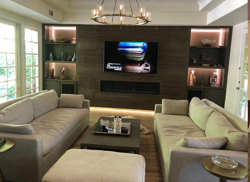 Built In Wall Units and Custom Cabinets