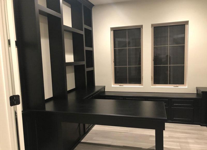 Custom Home Office Cabinets