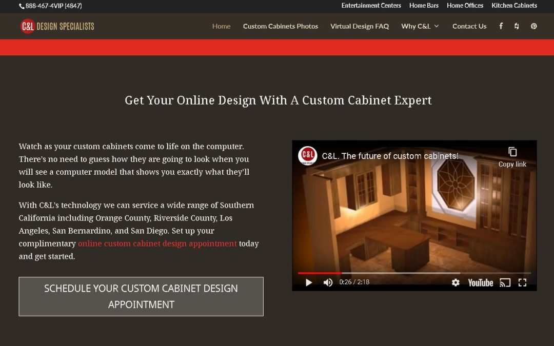C&L,The Expert In Virtual Cabinet Designing